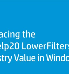replacing the pxhelp20 lowerfilters registry value in windows 7 [ 1280 x 720 Pixel ]