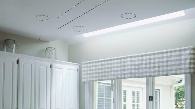 5 in white integrated led low voltage recessed easy kit