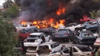 Fire at Modesto auto wrecking yard brought under control ...