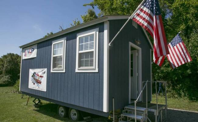 Tiny Houses For Veterans Upstart Project Moves Ahead