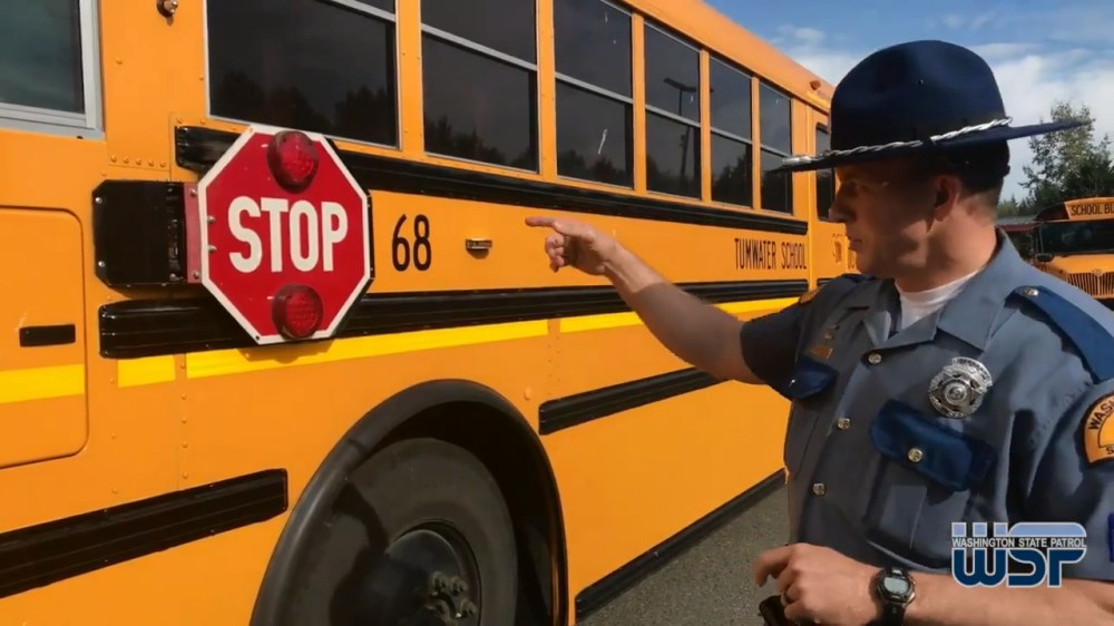 medium resolution of road rules when to stop and not stop for a school bus the bellingham herald