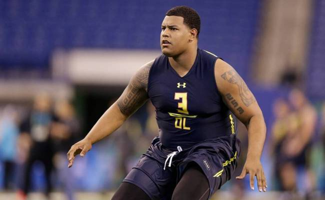 Zach Banner A Large Man With Big Time Nfl Aspirations