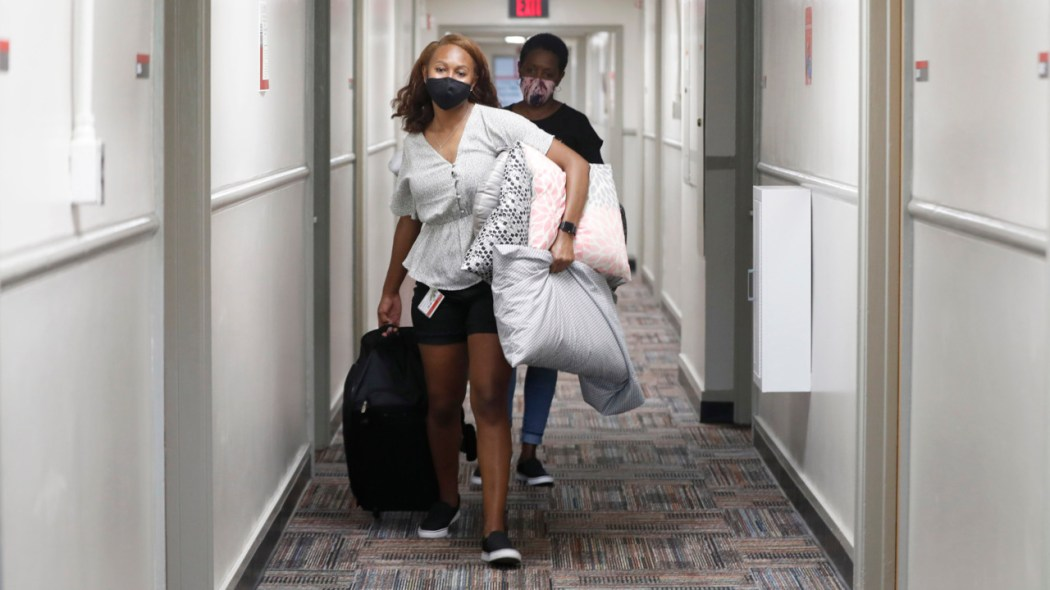 Students moving out of dorms fear spreading COVID-19 at home | Raleigh News  & Observer