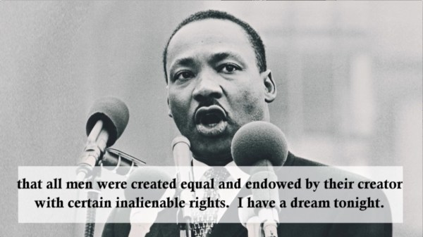 martin luther king i have a dream # 64