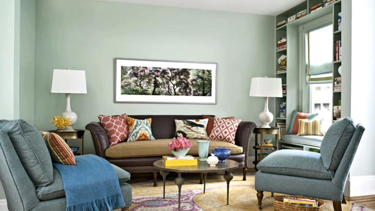 latest paint colors for living room mirrors rooms color schemes