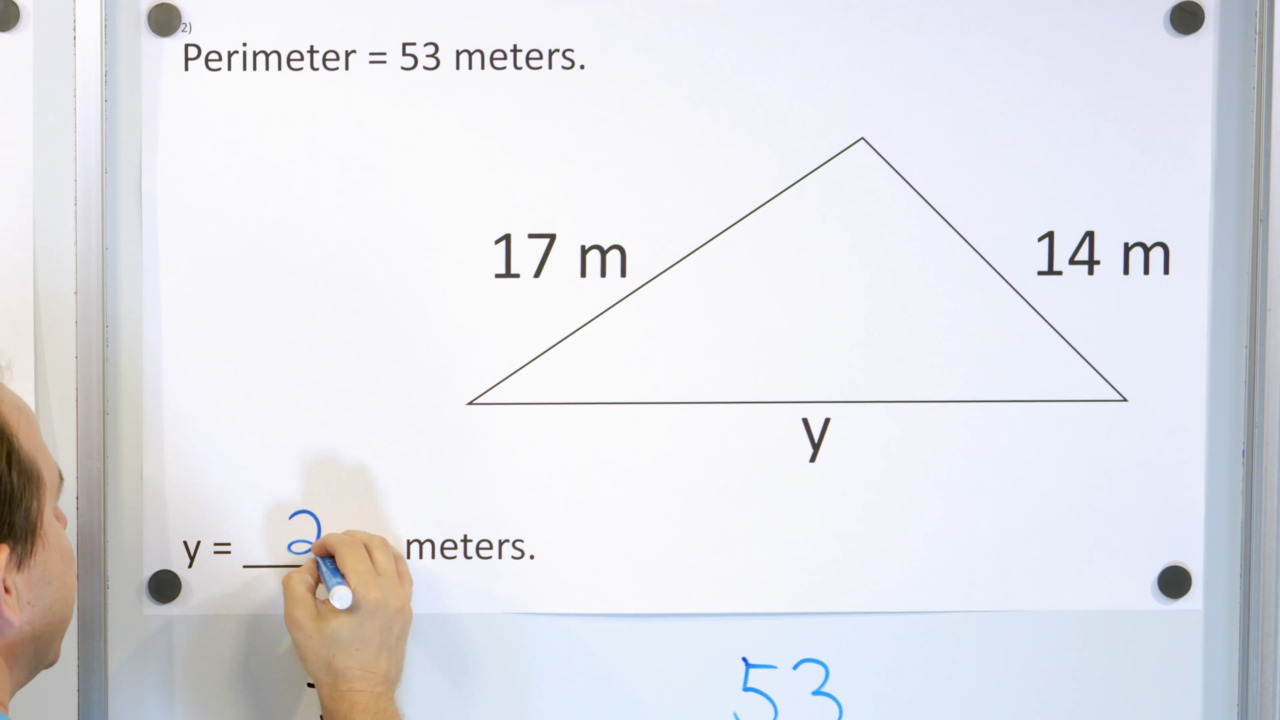 hight resolution of 3rd Grade Math Course - Unit 7 - Lesson 27 - Perimeter with a Missing Side  - Part 1