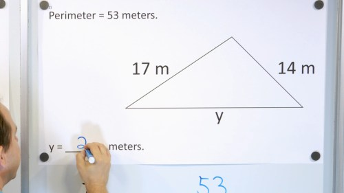 small resolution of 3rd Grade Math Course - Unit 7 - Lesson 27 - Perimeter with a Missing Side  - Part 1