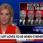 Ingraham: Biden goes 'Full Sharpton' -- 'Lying' about border patrol, boosting IRS to surveil average Americans 💥👩👩💥