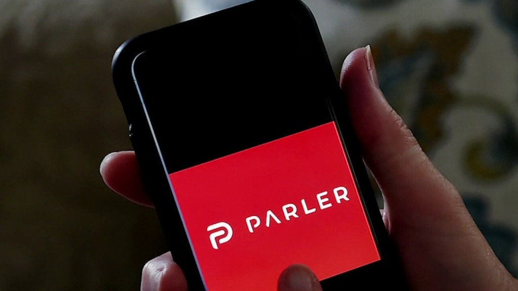 "We are clearly being singled out..Parler will likely go offline for ""a while"" Sunday evening given Amazon Web Services' decision to suspend the upstart social media platform"