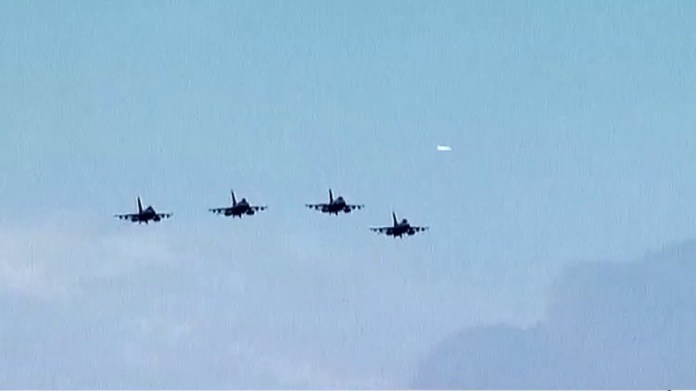 Military aircraft to fly over 4 cities to celebrate Independence Day