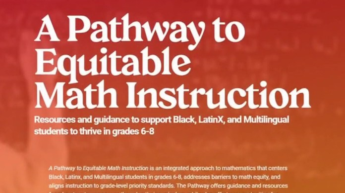 Oregon school officials' bid for 'racism in mathematics' is outrageous for black community: Hunt