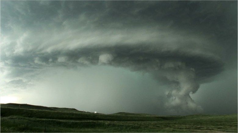 What is a supercell?