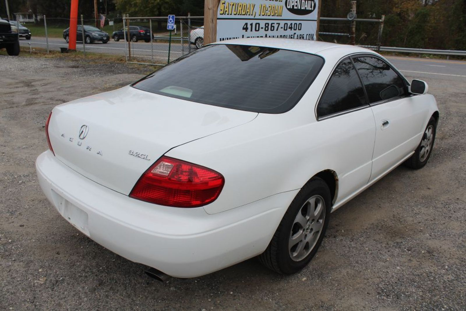 hight resolution of  2001 acura cl city md south county public auto auction in harwood