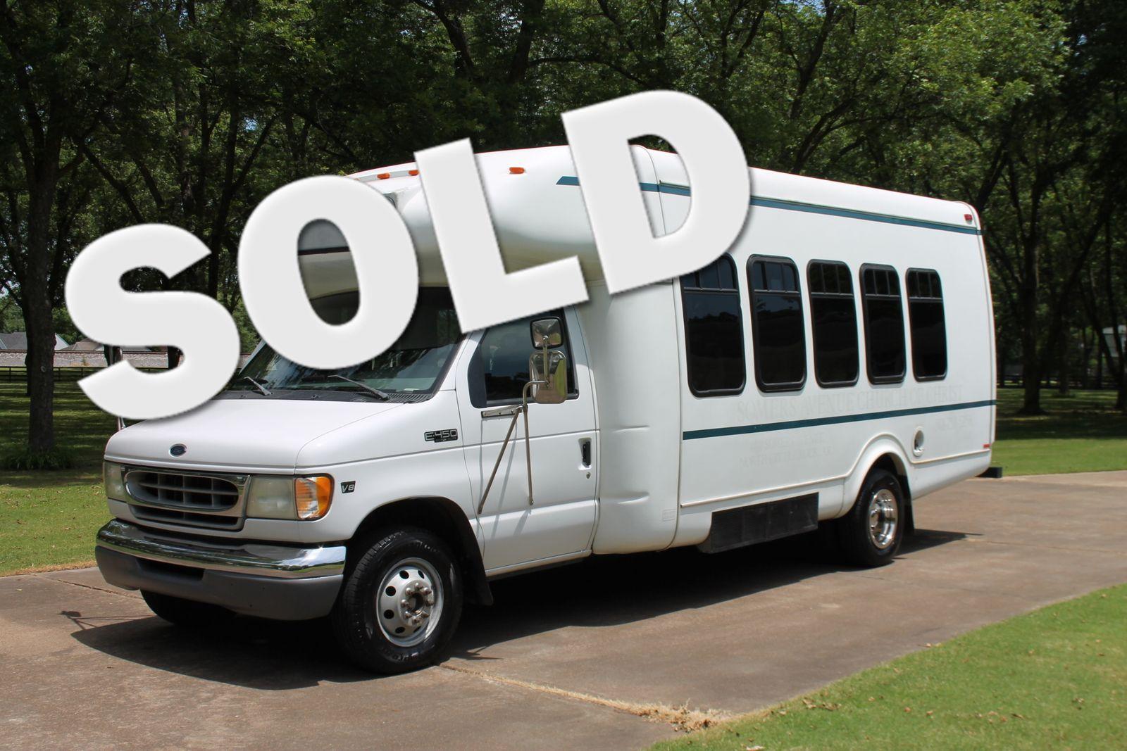 hight resolution of 2002 ford e450 21 passenger church bus 73l price used cars memphis hallum motors