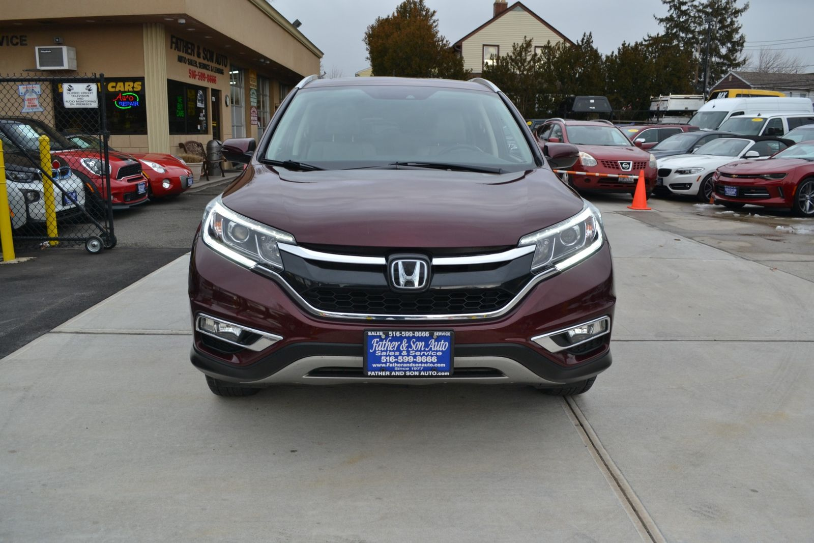 medium resolution of  2016 honda cr v touring city new father son auto corp in lynbrook