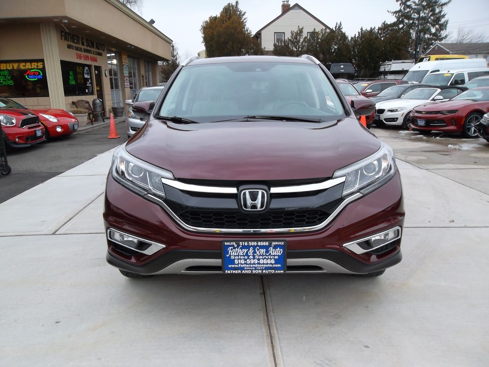 2016 honda cr v touring city new father son auto corp in lynbrook  [ 1600 x 1200 Pixel ]