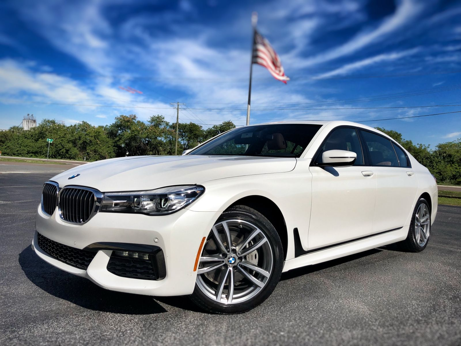 2018 bmw 740i m sport 1 owner pano roof carfax cert 88k florida bayshore automotive  [ 1600 x 1200 Pixel ]