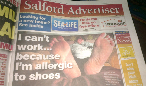 Anything Good In The Salford Advertiser?  Broadsheetie
