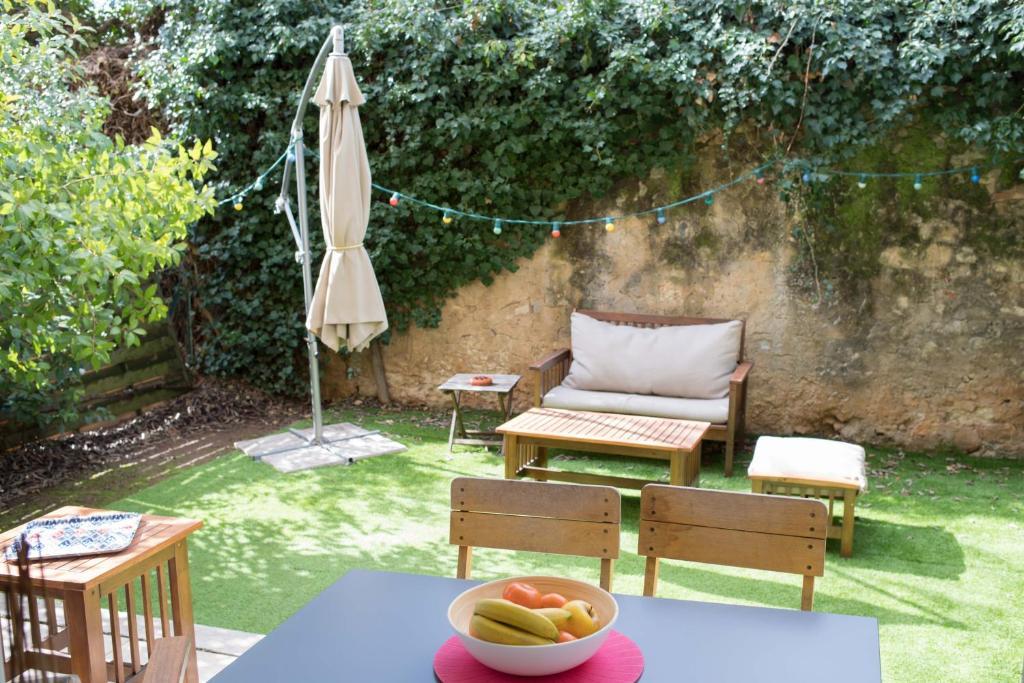 appartement 2 pieces avec jardin beaux