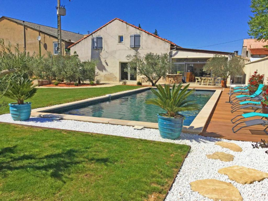 grande maison familiale avec piscine