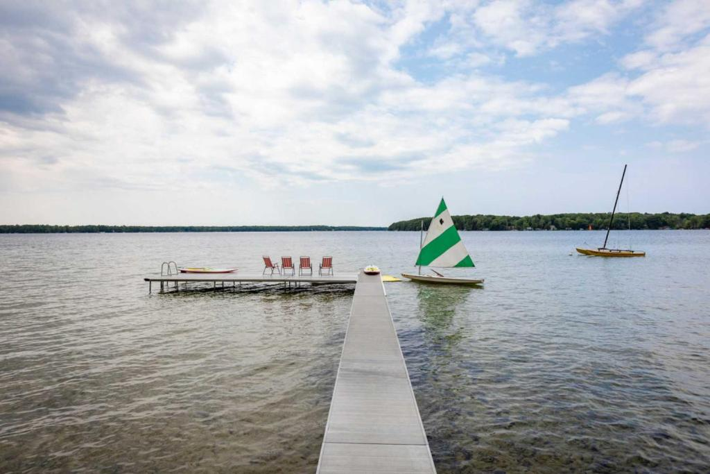 Vacation Home Up North Getaway With Fire Pit On Traverse City Mi Booking Com