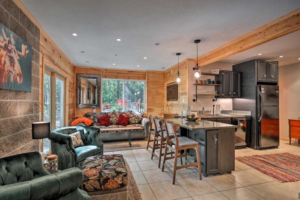 Vacation Home Modern Up North Cabin 20 Mins To Interlochen Mi Booking Com