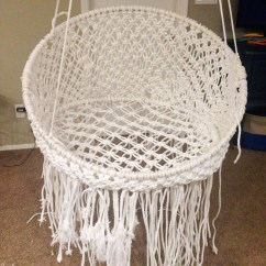 Hanging Chair Urban Outfitters Posture Helping Diy Macramé