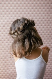 8 cute girls hairstyles - classy