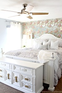 Shabby Chic Master Bedroom Makeover