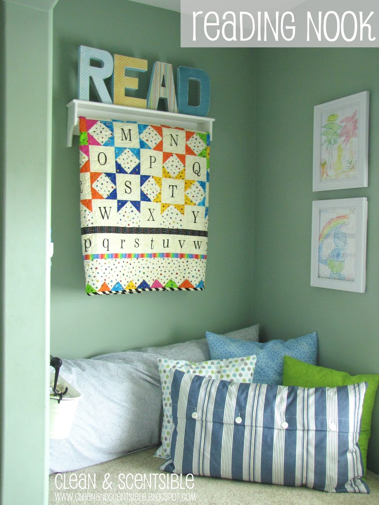 Our Reading Nook  Clean and Scentsible
