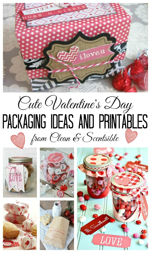 Valentines Day Packaging Ideas And Printables Clean And