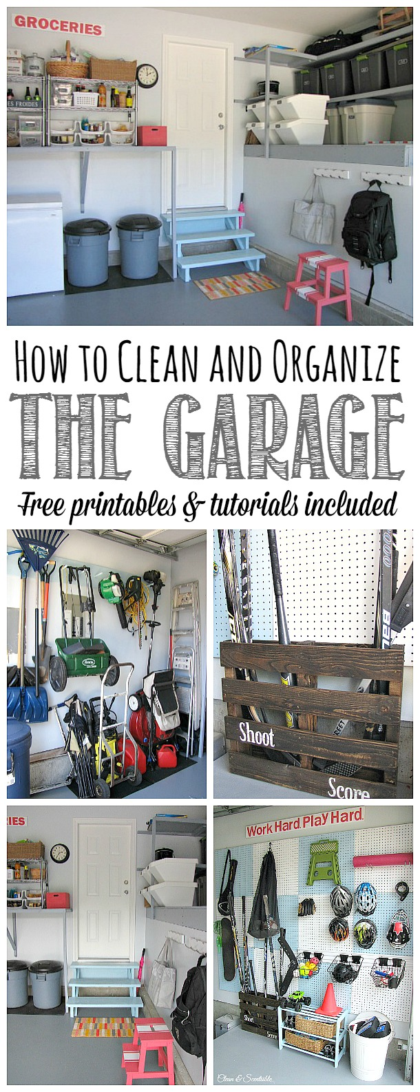 How To Organize The Garage  Clean And Scentsible