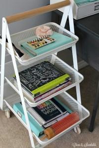 Small Desk Organization Ideas - Clean and Scentsible