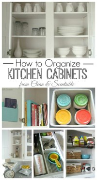Clean and Organize the Kitchen - February HOD Printables ...
