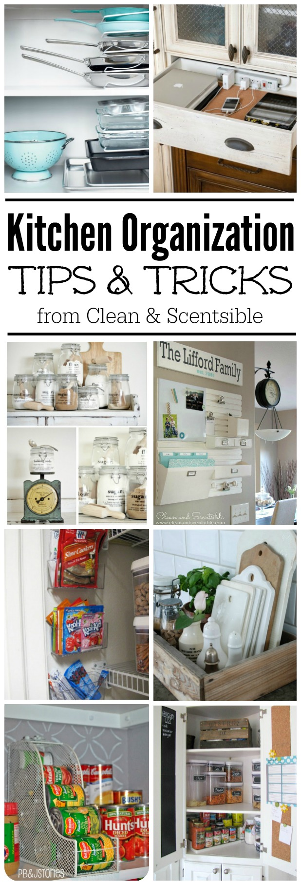 Easy Kitchen Organization Ideas  Clean and Scentsible