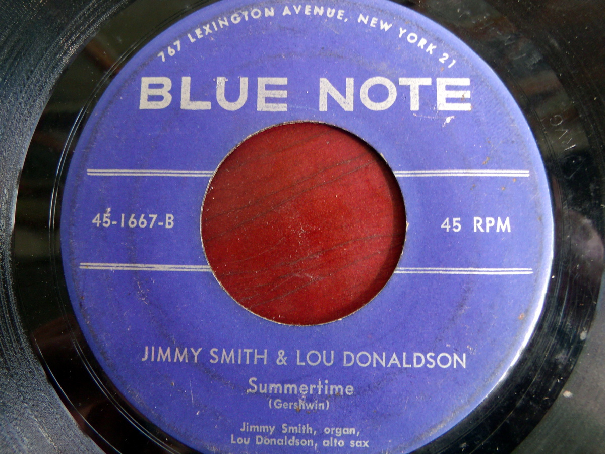 """1957 Jimmy Smithlou Donaldson """"how High The Moon"""" Bw"""