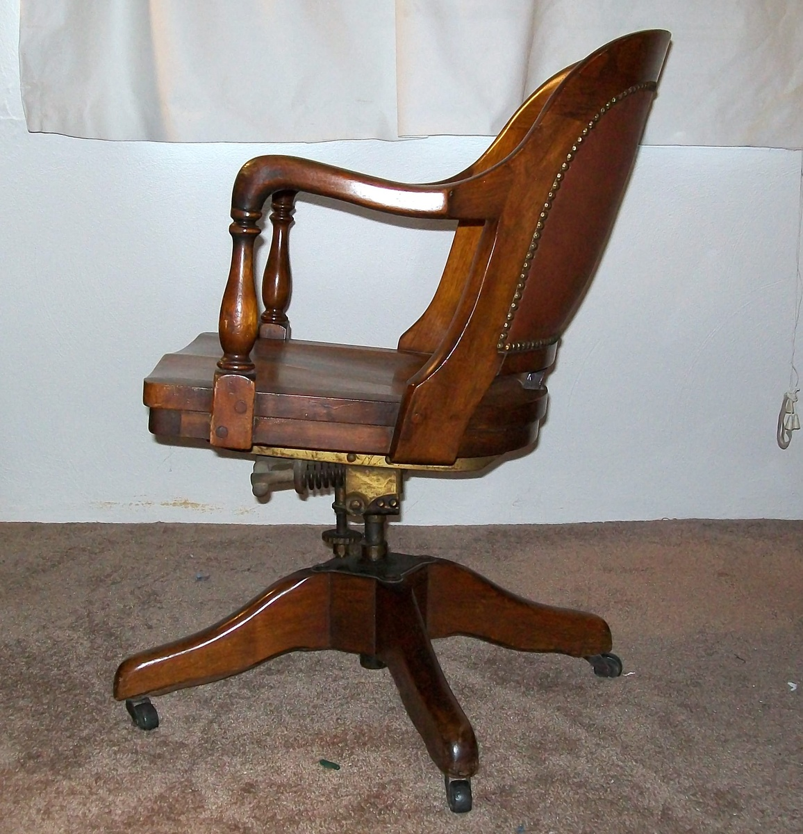 Bankers Chairs Antique Bankers Chair Marble And Shattuck Collectors Weekly