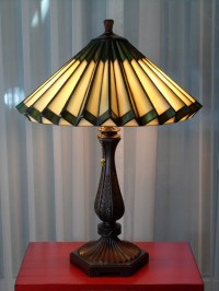 Tiffany Style Accordion Glass Lamp | Collectors Weekly