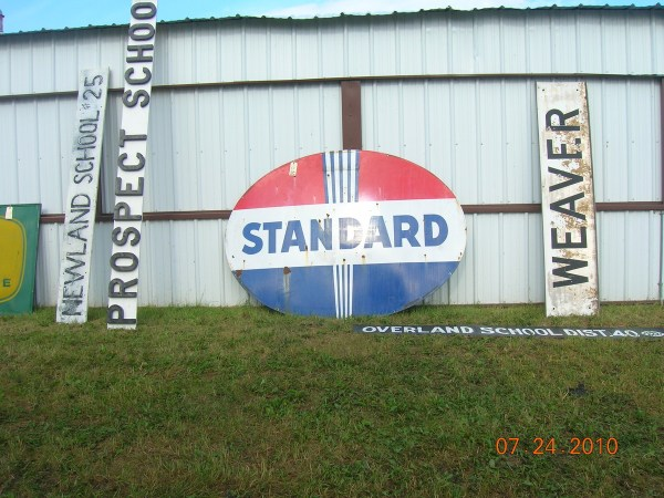 Standard Oil Sign In - Year of Clean Water