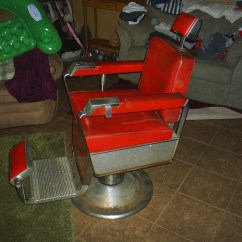 Barber Chair Parts Icomfort Ic1124 Therapeutic Massage 1962 Kochs Collectors Weekly