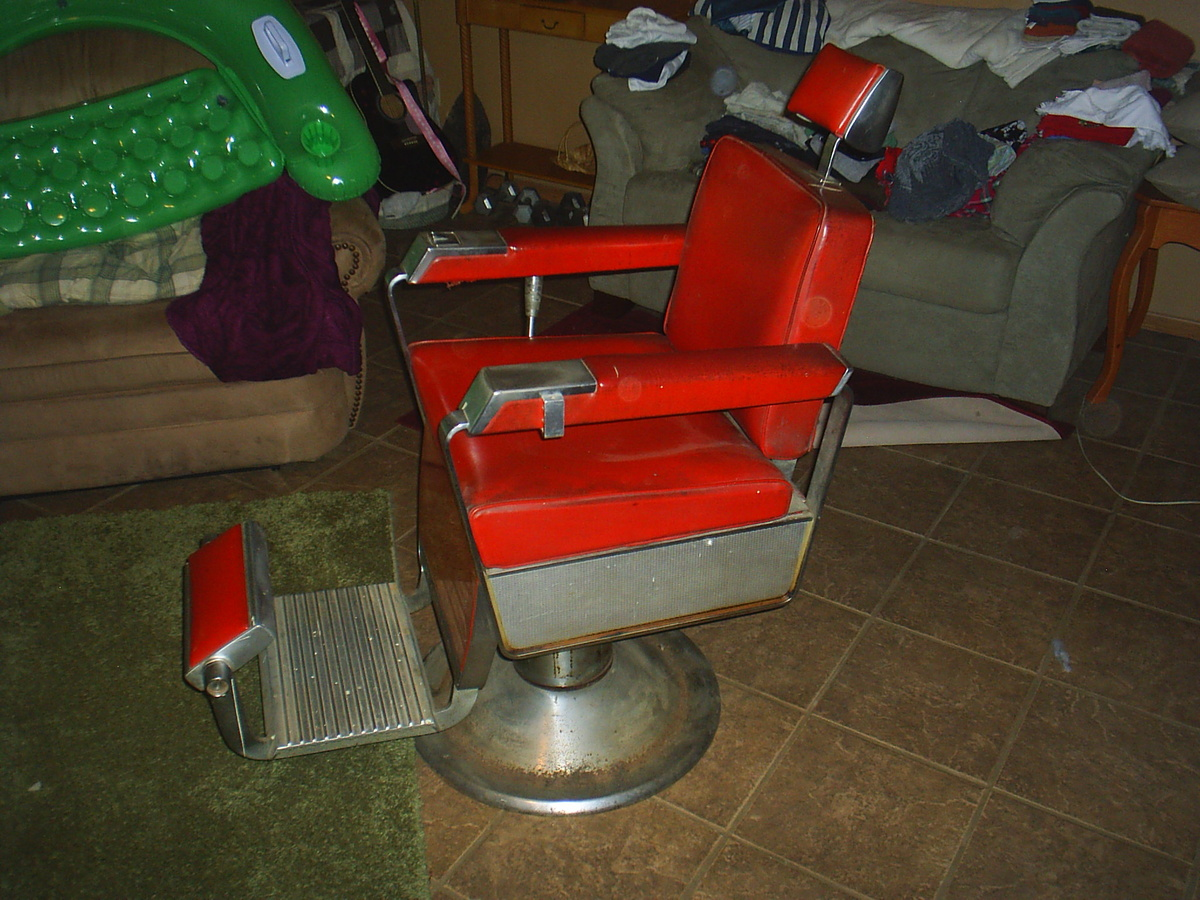 Barber Chair Parts 1962 Kochs Barber Chair Collectors Weekly
