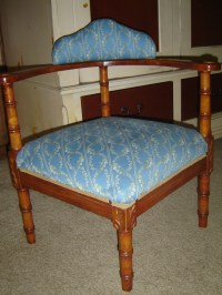 Cute Little Corner Chair | Collectors Weekly