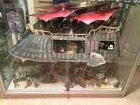 Star Wars Jabba the Hutt's Sail Barge - Airbrushed Boba ...