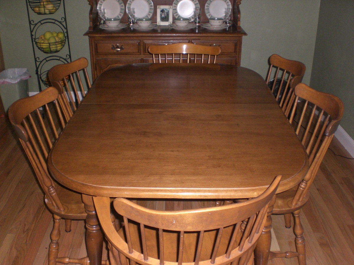 Ethan Allen Dining Set  Collectors Weekly