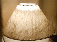 Another Fiberglass Table Lamp Shade 1950s | Collectors Weekly