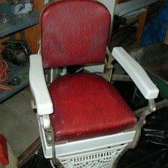 Koken Barber Chair Oversized Sleeper And Ottoman 1920 39s 1930 Collectors Weekly