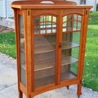 Mission Style Curio Cabinet  Cabinets Matttroy
