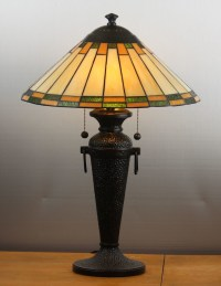 Roycroft 'Arts & Craft' Style Hammered Copper Table Lamp ...