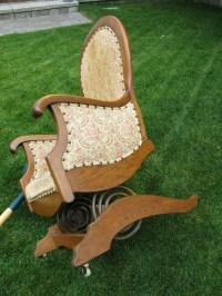 Platform or spring rocking chair | Collectors Weekly