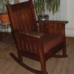 Rocking Chair Antique Styles Humanscale Freedom Mission Collectors Weekly